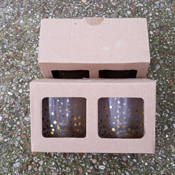 unknown Other - NIB Cocktail glasses, 2 sets of 2